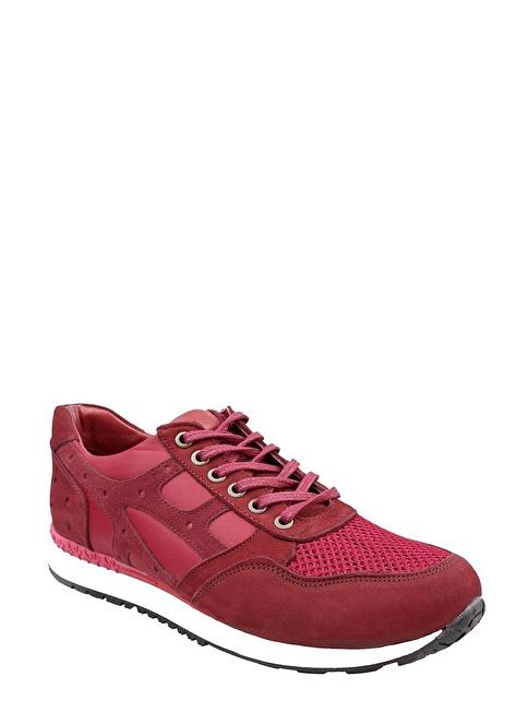 Wolfland Hakiki Deri Ayakkabı Kırmızı